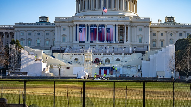 Capitol Building protected by nonscalable fence through Biden's inauguration
